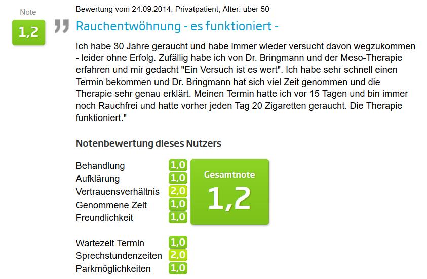 Mesotherapie Erfahrungen DrBringmann